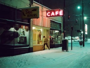 Greg Girard, Silver Grill Cafe, 1975.