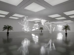 Review of Cerith Wyn Evans at White Cube Bermondsey, London