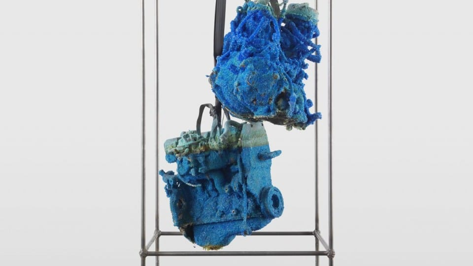 Roger Hiorns, Luhring Augustine, New York