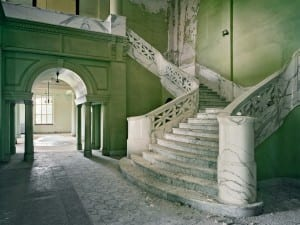 Christopher Payne, Mead Building Stair, Yankton State Hospital, Yankton, SD, 2008.