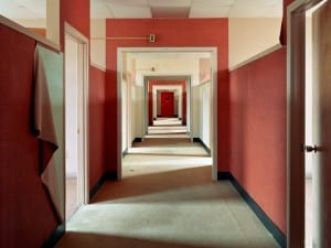Christopher Payne, Dormitory Ward, Harlem Valley State Hospital, Wingdale, NY, 2004.