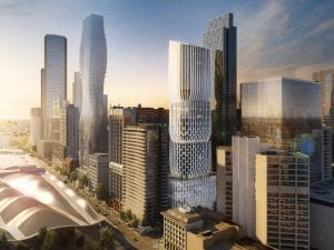 Zaha Hadid Architects: New Melbourne CBD Tower