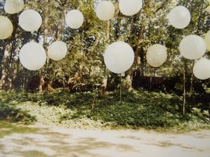 Kate Amery, Balloon Forest, 2011.