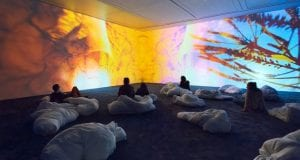 Pipilotti Rist, Pixel Forest, New Museum, New York