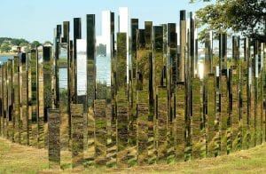 Jeppe Hein: A New End, Art and the Landscape, Massachusetts