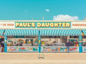 Ben Thomas, <em>Paul's Daughter</em>, 2016. Coney Island.