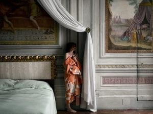 <i>The Bedroom</i>, from <i>The Woman Who Never Existed</i>, 2016, by Anja Niemi. © Anja Niemi / courtesy of The Little Black Gallery.