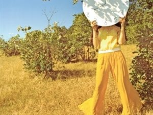 Vikram Kushwah, from the series <i>It Was All Yellow</i> for <i>Vogue India.</i> Model: Liza Golden; Art Director: Jolie Wernette-Horn; Stylist: Priyanka Kapadia; Hair & Makeup: Mira Parmar; Photography: Vikram Kushwah