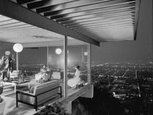 Julius Shulman (American, 1910-2009). <i>Case Study House No. 22 (Los Angeles, Calif.),</i> 1960. Gelatin silver print, 
