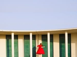 Maia Flore, detail of <i>Colonnade</i> from <i>L'enchantement va de soi.</i> Courtesy of the artist and Agence Vu.
