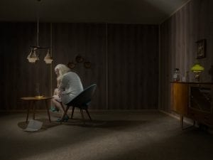 Ole Marius Joergensen, from the series<i> Behind the Curtains</i>, 2015. Courtesy of the artist.
