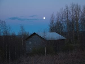 Isabella Ståhl, <i>Lonely Barn</i>, from the series <i>In the Shadow of Dusk.</i> www.isabellastahl.com