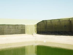 Henrik Spohler, <I>THE THIRD DAY</I>. Reservoir for greenhouse irrigation, El Ejido, Andalusia.